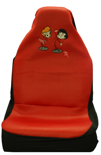 I Love Lucy Car Seat Covers